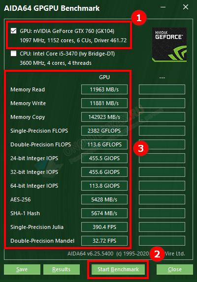 aida64 benchmark