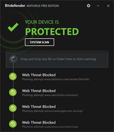 bitdefender бесплатная версия