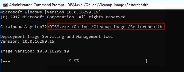 восстанавливаем системные файлы
