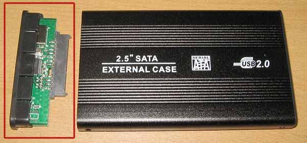 SATA USB адаптер