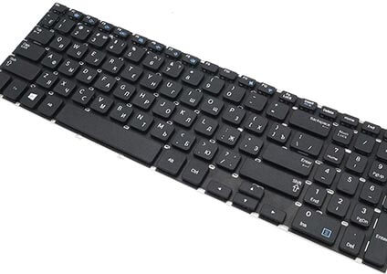 нажатие специальных клавиш
