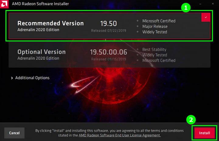 программа AMD Driver Auto-Detect Tool для обновления драйверов amd