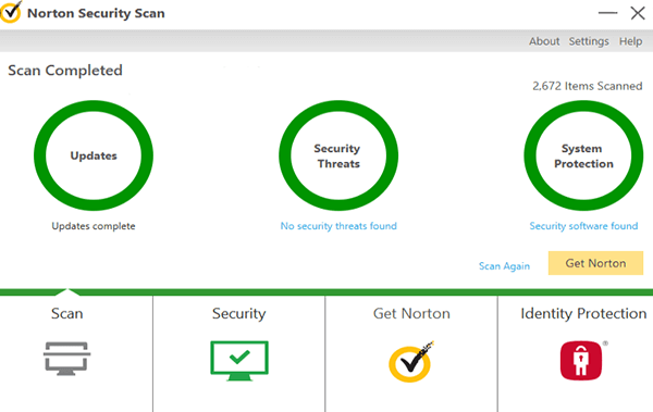 norton scanner