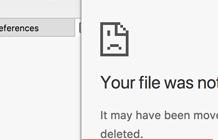 ошибка err file not found в google chrome