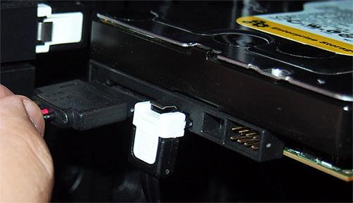 подключение жесткого диска