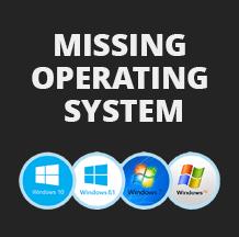ошибка missing operating system в windows 10 8 7